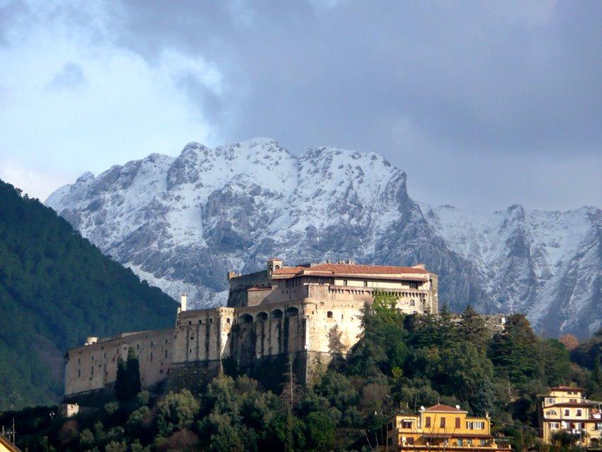 Chateau de Malaspina di Massa