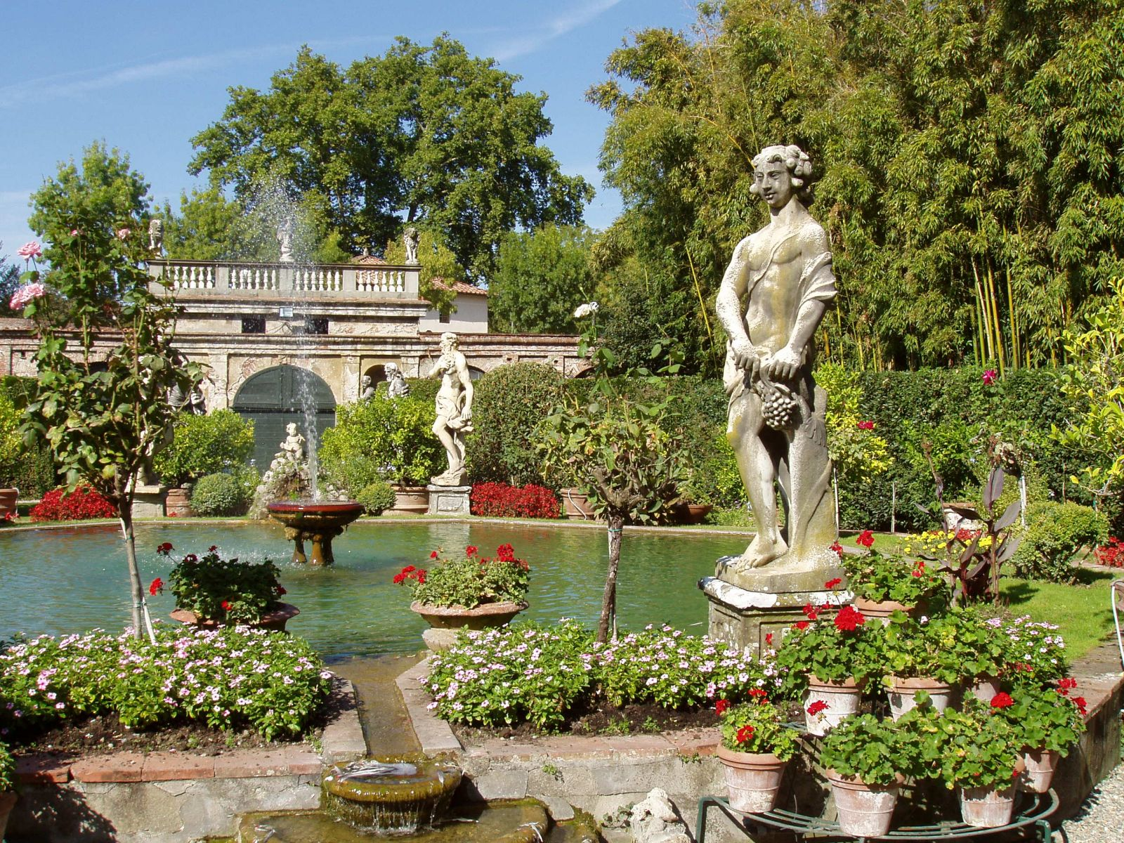 Palais pfanner blog toscane et tourisme en italie for Jardin italien